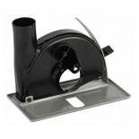 Guía de corte con racor de aspiración para cortar Bosch de 100/115/125mm