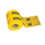 Banda señalización gas amarilla Jar de 15cm - 200 metros