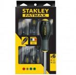 Juego 6 destornilladores Fatmax Stanley - Planos/Phillips