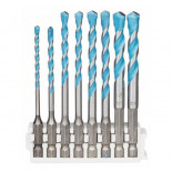 Juego 8 brocas multiuso Bosch Professional HEX-9 MultiConstruction - 3/4/5/5/6/6/8/8mm