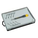 Destornillador de precisión con 8 puntas intercambiables Stanley