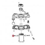 Juego tapa escobilla recambio Rubi Rubimix-16 Ergomax