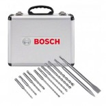Kit 11 Brocas y Cinceles SDS-PLUS Bosch