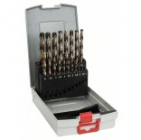 Juego de 19 brocas para metal Bosch de cobalto HSS-CO DIN 338 - 1 a 10 mm
