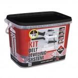 Kit Sistema de Nivelación Delta Rubi - 1mm (3/12mm)