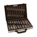 Maletín metálico de 170 brocas HSS-E 5% Co para metal DIN 338 (1-10mm c/ 0,5mm)