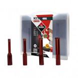 Kit DRYGRES 4DRILL Rubi para Corte Seco - 4 Brocas