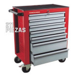 Kit para taller MetalWorks MWT211PE de 211 piezas