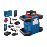 Nivel láser giratorio Bosch GRL 600 CHV + RB 60 + RC 6 + WM6 Professional