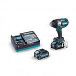 """Makita TW001GM201 con 2 baterías 4Ah - Llave de impacto BL 40Vmáx XGT 3/4"""" 1.800 Nm"""