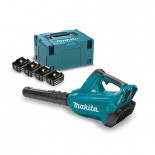 Soplador a batería Makita DUB362PM4 18Vx2 Litio-ion
