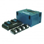 Kit fuente alimentación 18V Makita de 4,0Ah (4 baterías)