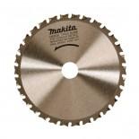 Disco HM Makita de 136x20mm especial metal - 30 dientes