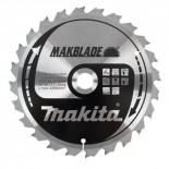 Disco para ingletadora Makita Makblade - 190x20mm 24 dientes