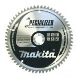 Disco para ingletadora Makita Specialized Aluminio - 190x20mm 60 dientes