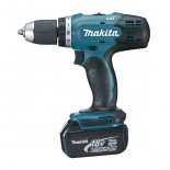 Taladro percutor Makita DHP453RFE 18V 3Ah Litio-ion