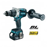 Taladro percutor Makita DHP481RTJ 18V 5Ah Litio-ion