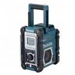 Radio de trabajo Makita DMR108 7.2-18V Litio-ion con Bluetooth