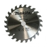Disco sierras circulares Makita Specialized Economy - 185x30mm 24 dientes