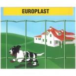 Malla electrosoldada plastificada Europlast 100x50mm - 1x25 metros