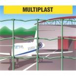 Malla electrosoldada plastificada Multiplast 50x60mm - 1x25 metros