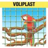 Malla electrosoldada plastificada Voliplast 13x13x1'2mm - 0'6x25 metros