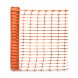 Malla señalización naranja para obra de 1x50 metros Jar