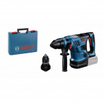 Bosch GBH 18V-34 CF Professional + Maletín - Martillo perforador a batería BITURBO con SDS plus