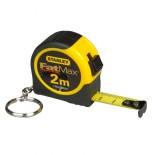 Miniflexómetro con llavero de 2 metros FatMax Stanley