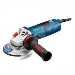 Miniamoladora Bosch GWS 13-125 CIE Profesional con velocidad regulable y maletín