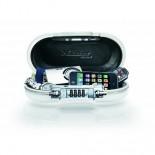 Minicofre ABS seguridad portátil con combinación Masterlock 5900EURDWHT