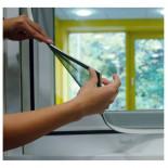 Mosquitera con marco magnético blanco de 100x120cm