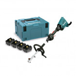 Motor multifunción Makita DUX60PT4J 18Vx2 LXT + 4 baterías 5.0Ah