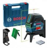 Nivel láser combinado autonivelante de línea verde Bosch GCL 2-15 G + RM1