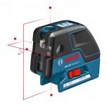 Nivel láser de puntos y lineas autonivelante Bosch GCL 25 + Cargador pilas