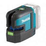 Nivel láser en cruz verde de 4 puntos Makita SK106GDZ 12Vmax CXT con una batería 4,0Ah