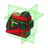 Nivel láser Metrica 3D PRO con haz verde