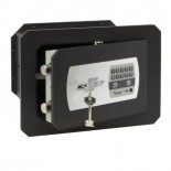 Caja fuerte mural combinación electrónica y buzón Olle Serie 1000 1002E25L - 350x465x250mm