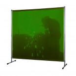 Kit panel soldadura Solter verde de 1800x1800mm con estructura