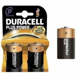 Pilas alcalinas DURACELL PLUS POWER LR20 - D (Blister 2 unidades)