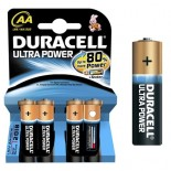 Pilas alcalinas DURACELL ULTRA POWER - AA (Blister 4 unidades)