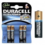 Pilas alcalinas DURACELL ULTRA POWER - AAA (Blister 4 unidades)