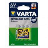Pilas recargable VARTA ACCU POWER - AAA (Blister 4 unidades)