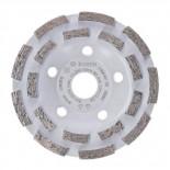 Cabezal de rectificación de diamante Bosch para hormigón Profes. - Ø125mm