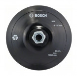 Plato de soporte de tipo velcro Bosch - 125 mm