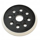 Plato de goma para lijadora excéntrica Bosch de 125mm