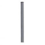 Poste redondo galvanizado de Ø50mm x 3 metros para espejo de 60cm