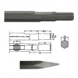 Puntero hexagonal inserción Bosch UBH 12/50 de 400mm