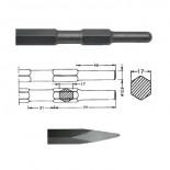 Puntero hexagonal inserción HITACHI H41SA/H45SR (SIN ARO) de 280mm