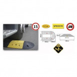 Ralentizador modular MetalWorks SPEED70 de 400x500x70mm (2 unidades)